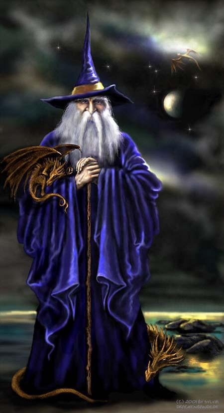 3m9gow05 dibujos de magos y dragones para niños