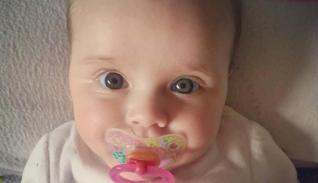 La pequeña Laura.